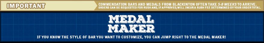 Medals - CommendationBars com